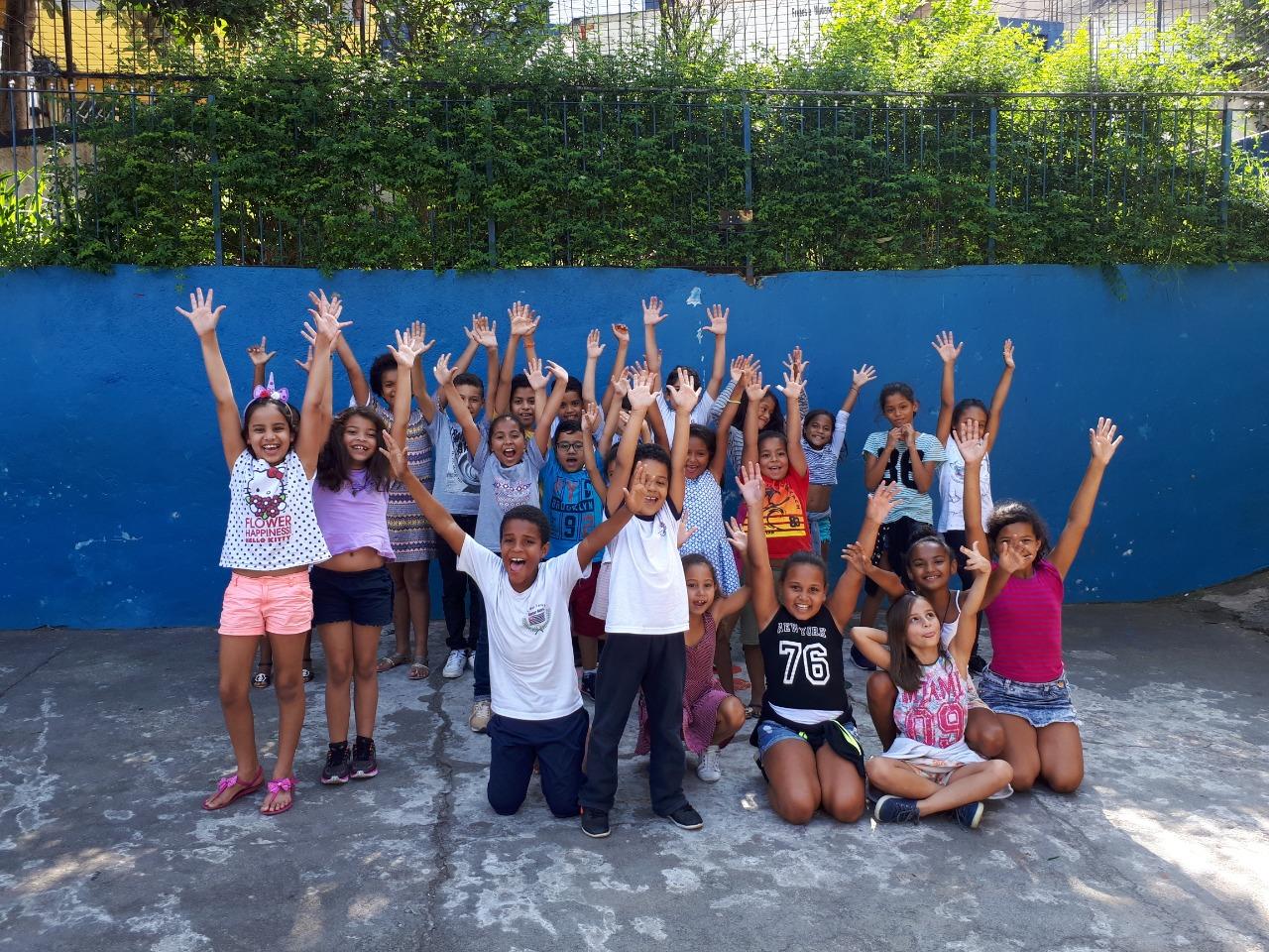 Crianças atendidas CCA Santa Cecilía