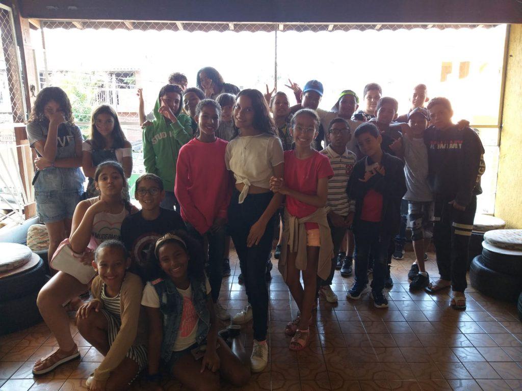 Crianças CCA Ibirapuera